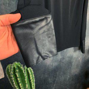 Bailey 44 Tops - CLEARANCE Bailey 44 Black Split Sleeve Blouse